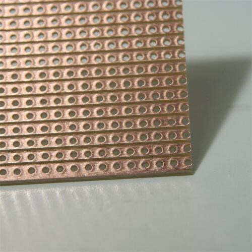 PLATINE 200x100 mm Streifenrasterplatine Kupfer Cu