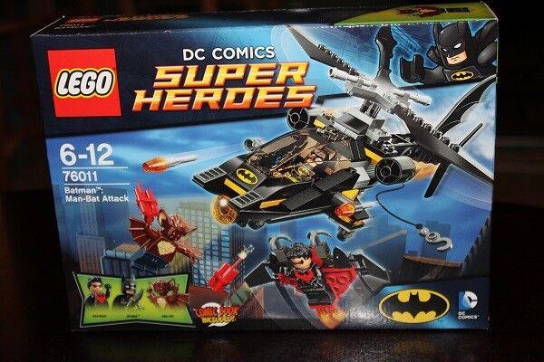 LEGO Super Heroes Batman 76011 - Man-Bats Angriff NEU & OVP