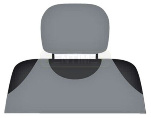 Kopfstützenbezüge hell grau KOP AUDI 100