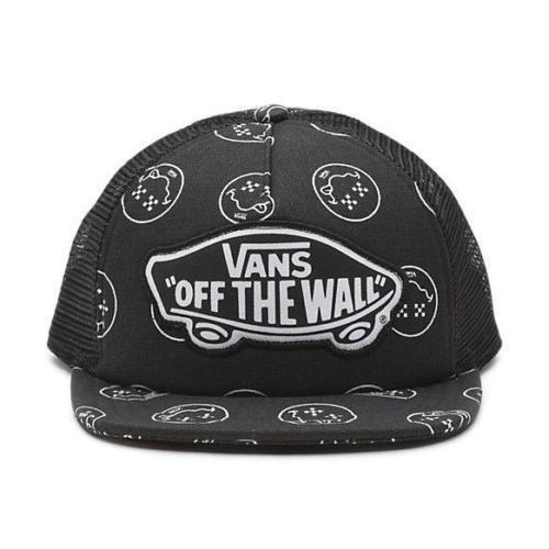 310ac7f01f7 VANS Fun Guy Womens Trucker Hat Snapback Cap Black Beach Girl for sale  online
