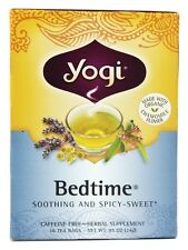 Yogi Tea Bedtime Tea with Organic Chamomile 16 Tea Bags