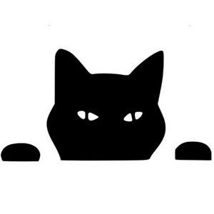 Pet Cat Peeping Cat Funny Stickers Vinyl Decal Motorcycle