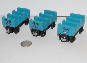 Details About Thomas Friends Wooden Railway Train Tank Ada Mabel Jane Coaster Cars 1997 Guc