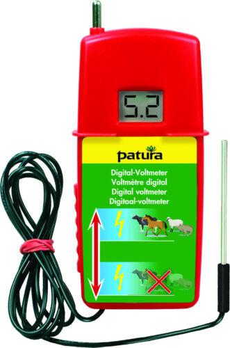 resistencia pradera Patura digital voltimetro m zuschalt