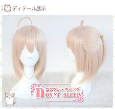 Fate Grand Order Okita Souji Saber Short Anime Cosplay Costume Wig +CAP+Track