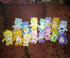 "Care Bears & Cousins 8"" Plush Lot of 15. Lion,  Monkey plus 2 new."