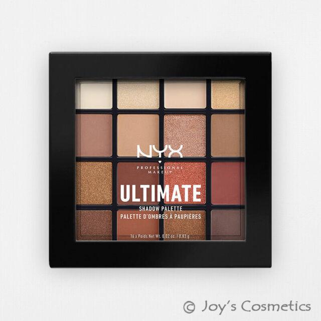 "1 NYX Ultimate Shadow Palette Eye "" USP03 - Warm Neutrals "" Joy's cosmetics"