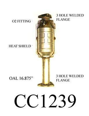 Catalytic Converter Ultrafit Exhaust CC1239