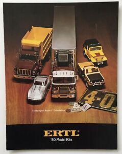 ERTL ESCI 1982 PLASTIC MODEL KITS CATALOG