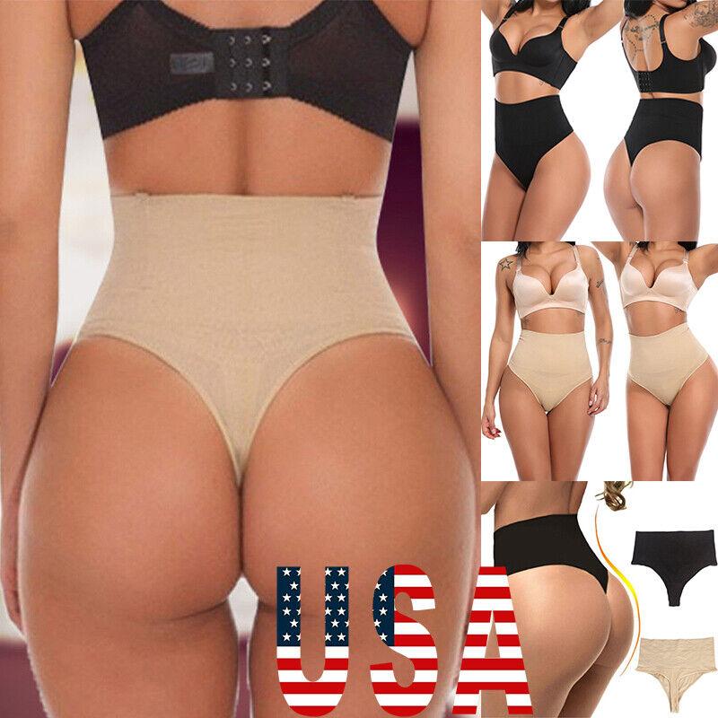 Women Body Shaper Control Slim Tummy High Waist Panties Briefs Knickers New
