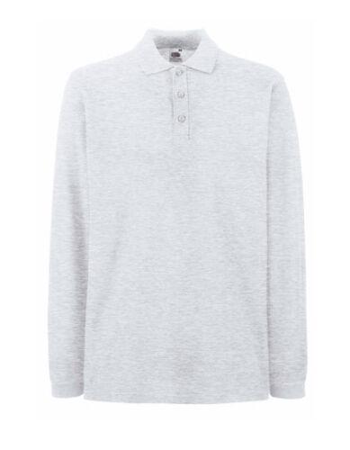 Polo manches longues 3xl blanc 7 couleurs chemise manches longues sweatshirt xxxl polo t-shirt