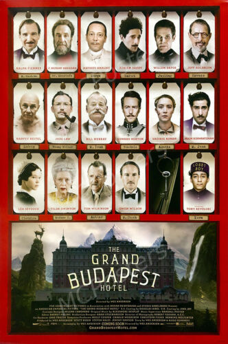 Posters USA - The Grand Budapest Hotel Movie Poster Glossy Finish - MCP659