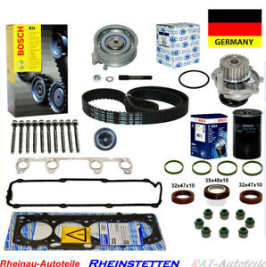 Cabeza-redondeada-sellado-conjunto-de-correa-dentada-bomba-agua-filtro-aceite-VW-Golf-IV-1-6