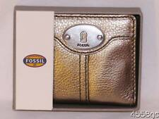 LADIES FOSSIL MARLOW BIFOLD METALLIC WALLET - NEW IN BOX