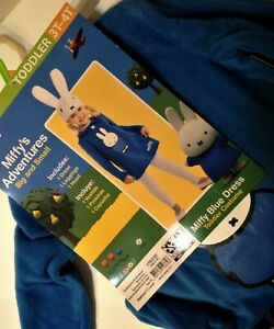 Miffy Toddler Costume Dress w// Hood