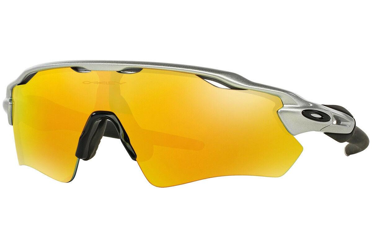 Oakley Sunglasses Radar EV Path Silver wFire Iridium OO9208 02
