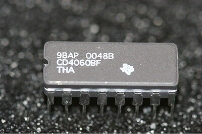CD4060BF Texas  Instruments 14-Stage Binary Ripple Counter with Oscillator