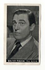 Walter Pidgeon 1947 Kwatta Film Stars Belgium Chocolate Card #59