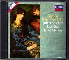 Julius KATCHEN Josef SUK Janos STARKER BRAHMS Piano Trio No.1 & 2 Klaviertrio CD