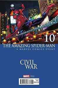 Amazing Spider-man Vol 4 # 10 Civil War Variant Cover NM Marvel