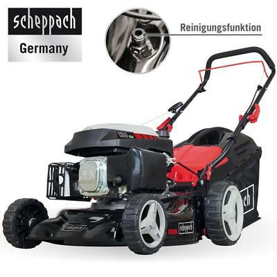 Scheppach Benzin-Rasenmäher MP139-42, 42 cm Schnittbreite, 25 – 70mm Schnitthöhe