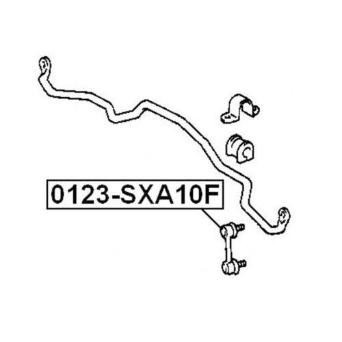 4 Front Sway Stabilizer Bar Link /& Stabilizer Bushing For 1994-2000 Toyota RAV4