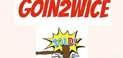 Goin2wice re-sale