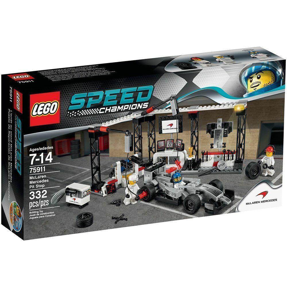 LEGO® Speed Champions 75911 (1)  McLaren Mercedes Boxenstopp  NEU OVP NEW MISB