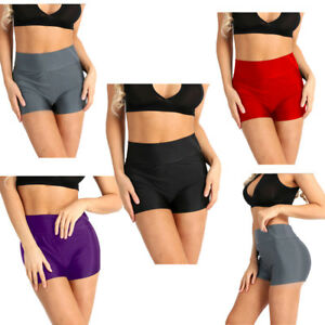 Sexy Women Sports Gym Short Pants Workout Dance Skinny Yoga High ... 02b87ec409c
