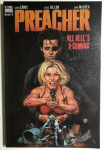 PREACHER book 8 All Hell's A-Coming (2000) DC Vertigo Comics TPB VG+ 1st