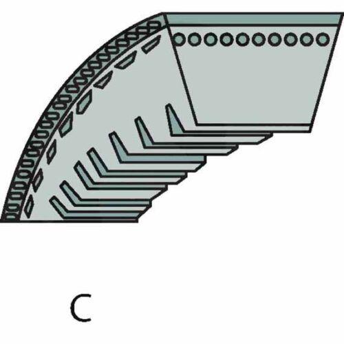 Motor Abmessung 9,5 x 876 Trennscheibe 350 mm Durchmesser AYP Keilriemen
