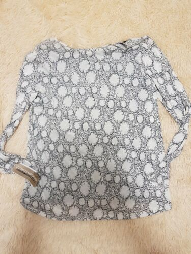 New Top Vince Sleeve Size Long L Cotton 100 WB0wq0n7F
