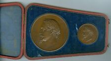 1867 French Medals for Napoleon III and the Universal Exposition by H. Ponscarme