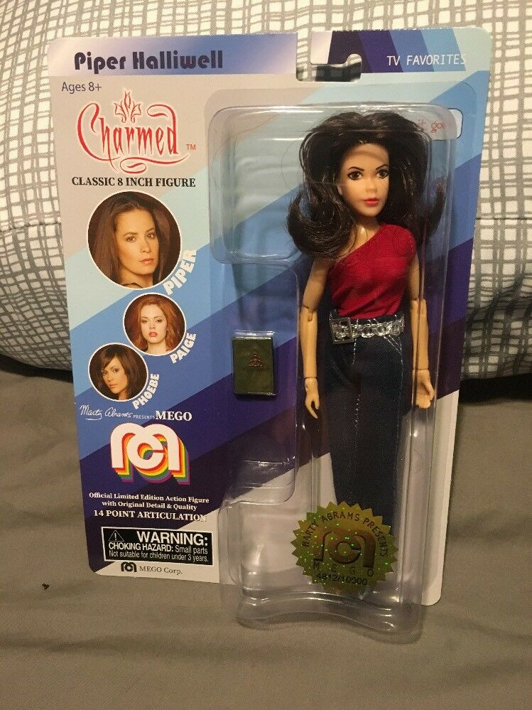 CHARMED PIPER HALLIWELL 8  MEGO  Wild Hair Variant TARGET EXCLUSIVE FIGURE Rare