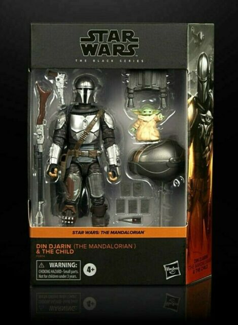 Star Wars Black Series Mandalorian & The Child Figures Grogu Din Target Excl