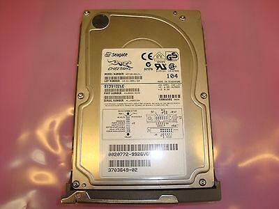 "Seagate Cheetah 10K RPM 9 GB 80 Pin SCSI 3.5/"" Hard Drive ST39102LC Tested"