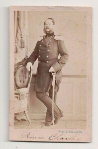 Vintage-CDV-Prince-Charles-of-Prussia-Brother-Kaiser-Wilhelm-I-Germany