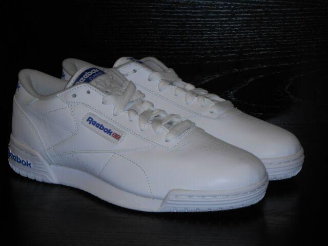 54d29916d1c Reebok Exofit Lo Clean FM R12 INT Trainers - White Men's Size 12uk Eur47  31cm
