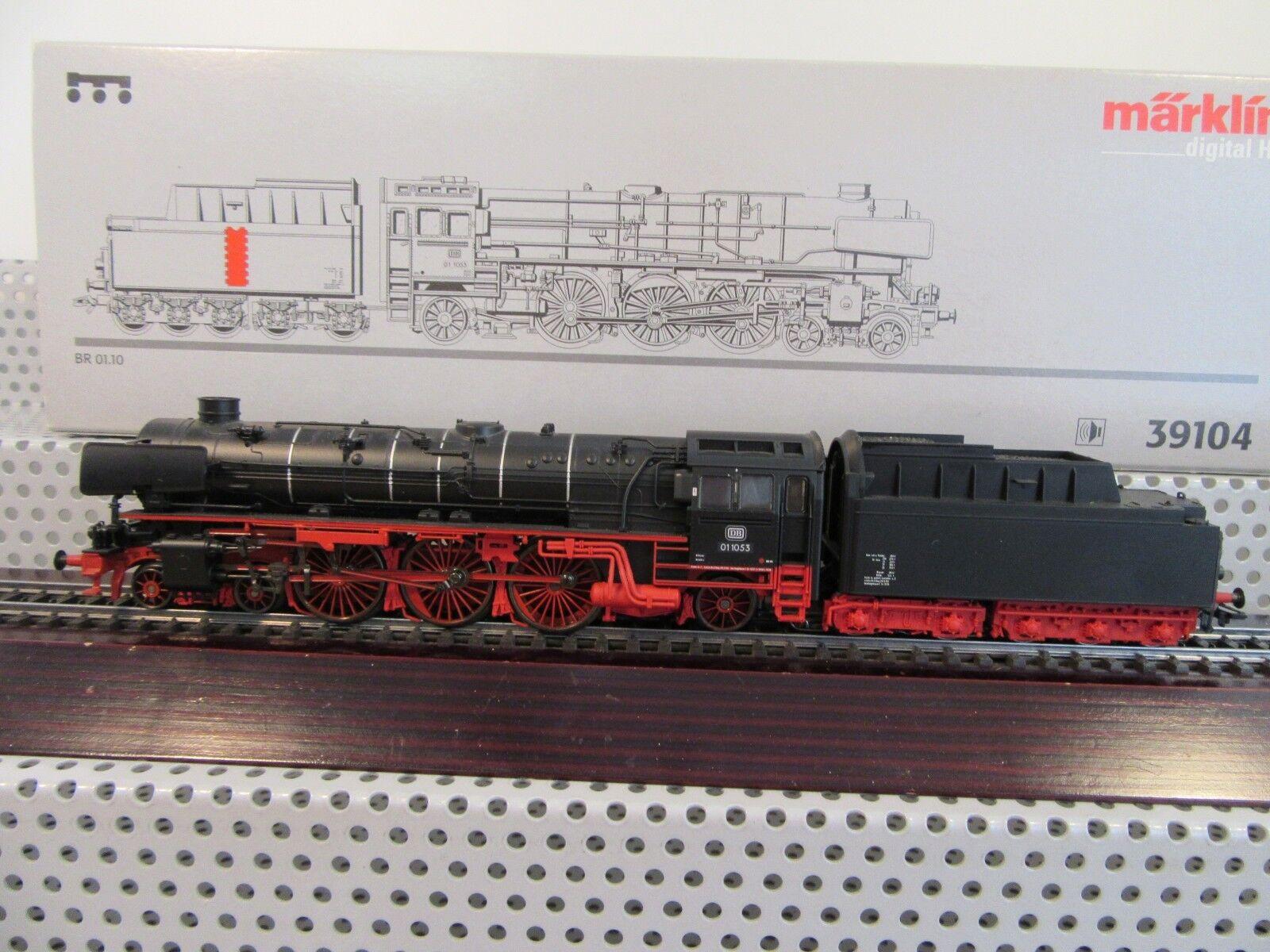 h0 39104 STILO Tender locomotiva BR 01 1053 delle DB digital sound in scatola originale 1ff58a