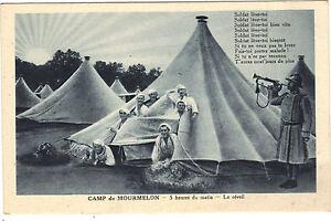 51-cpa-Camp-de-MOURMELON-5-heures-du-matin-Le-reveil