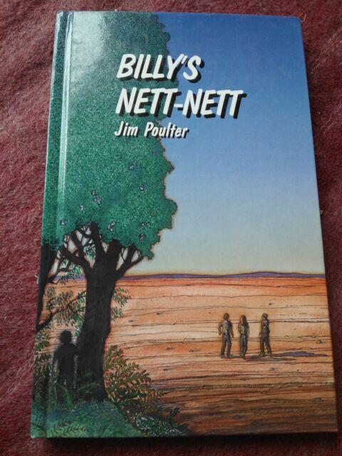 JIM POULTER SIGNED BOOK. BILLY'S NETT-NETT