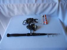 Shakespeare Pro-Am Reel W/Telescoping Rod & Eagle Claw Boat Rod Holder Lot 76A