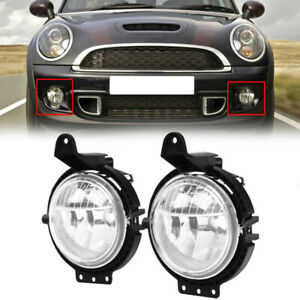 Pair For BMW R55 R56 Clubman 2010-2015 Front Spot Fog Light Lamps Left /& Right