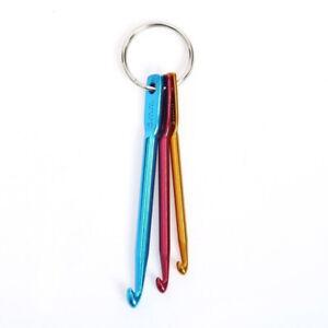 3-Stueck-Haekelnadeln-Schluesselanhaenger-Set-Weaving-Tools-Crochet-Nadeln-M5A7