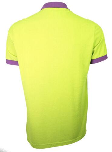 Galliano classic polo green//purple