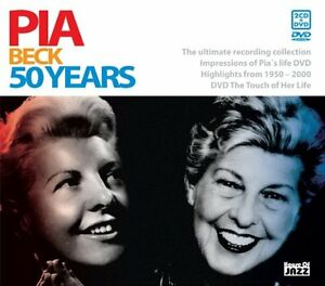 Pia-Beck-50-Years-2006-2CD-DVD-NEW-SEALED-SPEEDYPOST