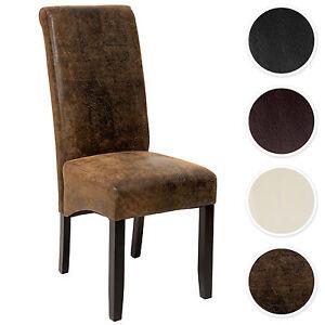 Design Sedia per sala cucina da pranzo nero sedie 106 cm | eBay