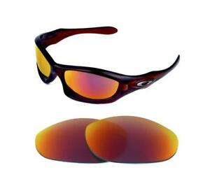835250af9b Image is loading NEW-POLARIZED-SOLAR-RED-REPLACEMENT-LENS-FOR-OAKLEY-