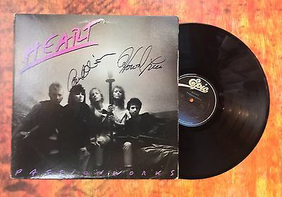Ann Wilson & Howard Leese Signed Used Record Album Ad4 Coa Gfa Heart Band