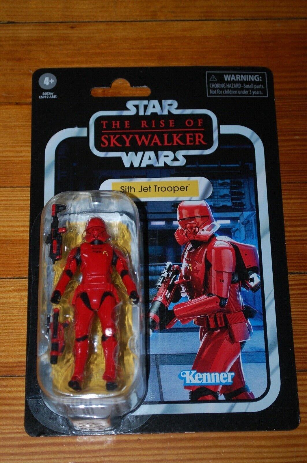 Sith Jet Trooper Star Wars Vintage Collection The Rise Of Skywalker Moc Ebay